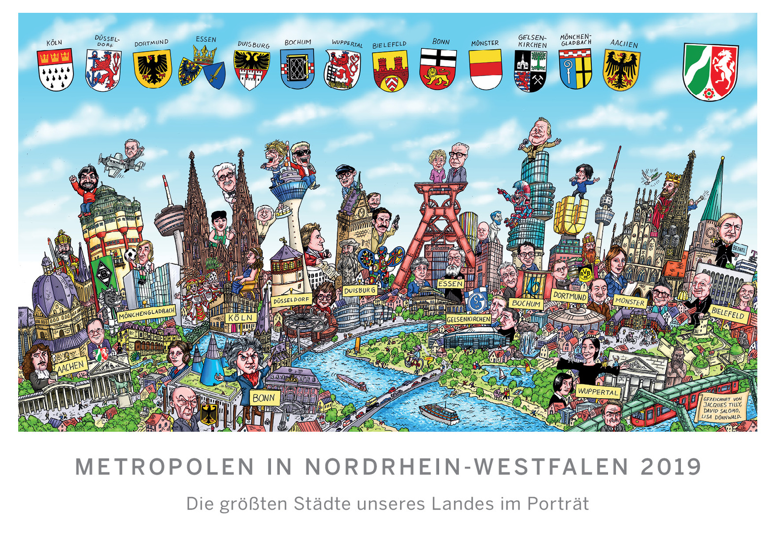 Wwwknastladende Kalender Metropolen In Nordrhein Westfalen 2019