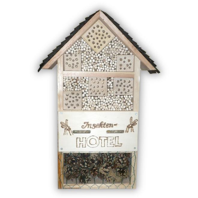 insektenhotel gro. Black Bedroom Furniture Sets. Home Design Ideas