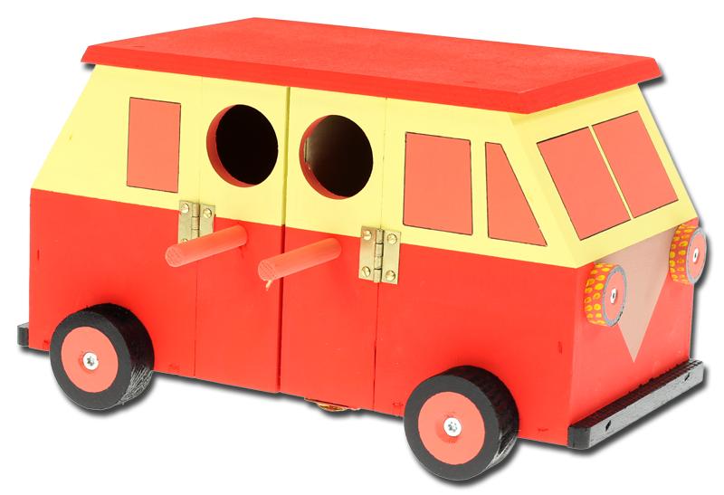 spatzennistkasten retro bus. Black Bedroom Furniture Sets. Home Design Ideas